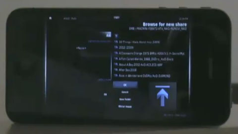 XBMC auf dem iPhone