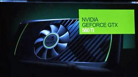 Nvidia stellt die GTX 560 Ti vor