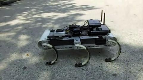 X-RHex - sechsbeiniger Laufroboter