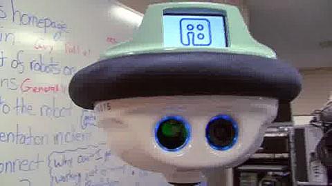 Telepräsenzroboter QB - Herstellervideo
