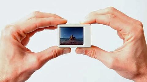 LCD Bacpac - Aufnahmekontrolle für die Helmkamera