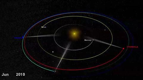 Nasa - Stereo-A und Stereo-B liefern 360-Grad-Bilder der Sonne
