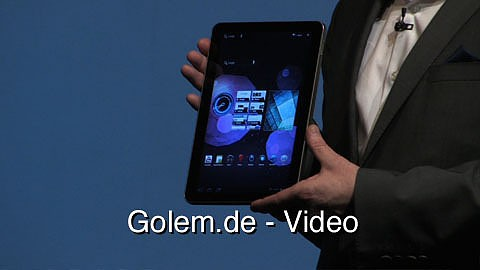 Samsung Galaxy Tab 2 - Pressekonferenz auf dem Mobile World Congress 2011