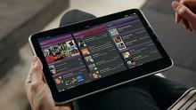 Meego-Tablet-Version - Benutzeroberfläche