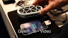 MyFC stellt Powertrekk Fuel Cell Charger auf dem Mobile World Congress 2011 vor