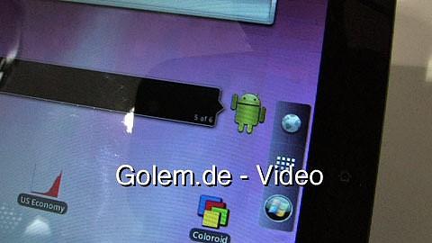 Viewpad 10 Pro angesehen auf dem Mobile World Congress 2011