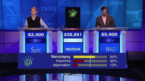 Watson gewinnt gegen die größten Champions in der Geschichte von Jeopardy