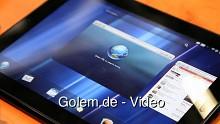 HP Touchpad - Angeschaut auf dem Mobile World Congress 2011