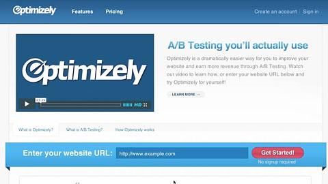 Optimizely will AB-Tests vereinfachen - Herstellervideo