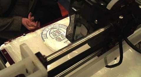 Demonstration von Bioprinting