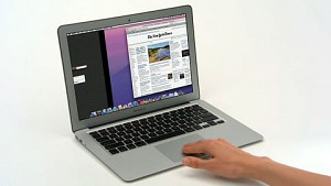 Apple zeigt neue Gesten in Mac OS X Lion - Herstellervideo