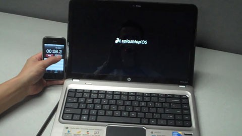 Splashtop OS in Aktion