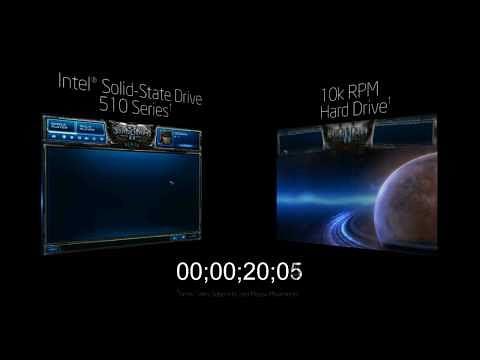 Intel zeigt SSD 510 - Ladezeitvergleich bei Starcraft 2