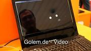 Tobii zeigt Steuerung mit den Augen auf der Cebit 2011