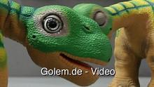 Joker Group zeigt den Dino Pleo RB auf der Cebit 2011