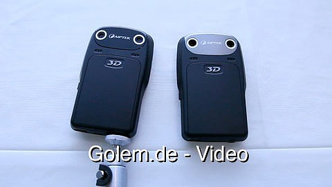Aiptek zeigt Consumer-3D-Camcorder i3 auf der Cebit 2011