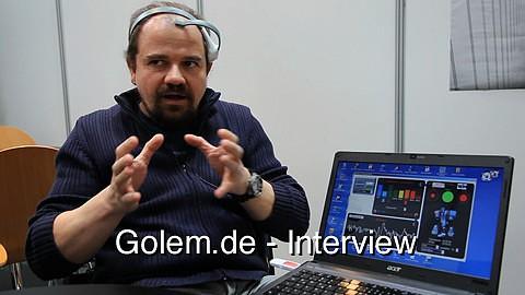 Dr. phil. Axel Kowalski über mentales Training mit Neurosky Mindwave auf der Cebit 2011