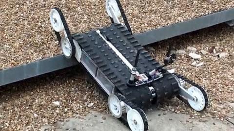 Rettungsroboter Quince