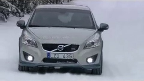 Volvo C30 Electric - Wintertests - Herstellervideo