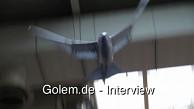 Smart Bird - Interview mit Paul Kho von Festo auf der Hannover Messe 2011