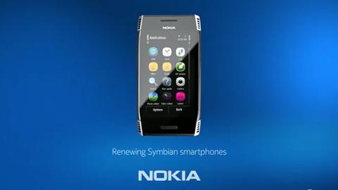 Symbian Anna auf dem Nokia X7