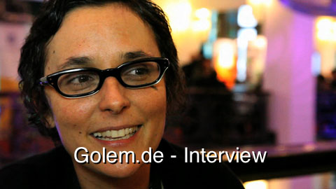 Interview mit Gabriella Coleman über Anonymous - republica 2011 (Englisch)