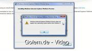 Internet Explorer 10 lässt sich unter Windows Vista nicht installieren