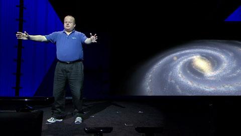Kinect und Worldwide Telescope Demo - MIX11