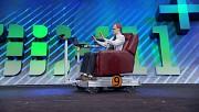 Sessel mit omnidirektionalen Rädern und Kinect-Steuerung - MIX11