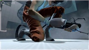 Portal 2 - Trailer (Freifallstiefel)