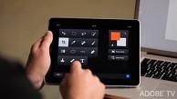 Adobe Nav - iPad wird zur Werkzeugleiste von Photoshop - Herstellervideo