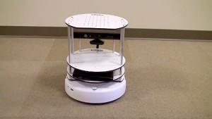Roboter Turtlebot von Willow Garage - Herstellervideo
