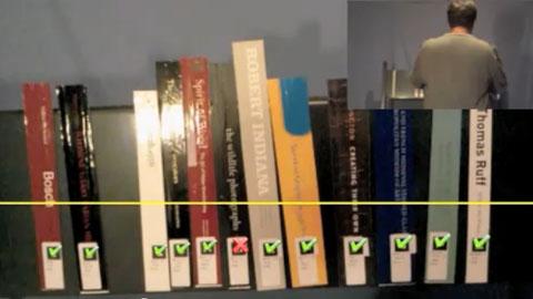 Shelvar - Augmented-Reality-App für die Bibliothek
