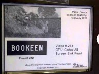 Bookeen - Pearl-Display spielt Video ab