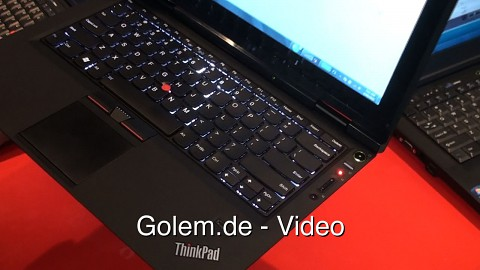 Lenovo Thinkpad X1 - Angeschaut