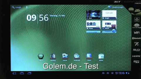 Acer Iconia Tab A500 - Test