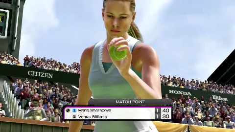 Virtua Tennis 4 - Trailer (Move)