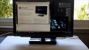HP X2301 - Display mit 9,8 mm dünnem Gehäuse