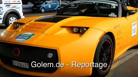 Challenge Bibendum Ökoflitzer-Wettbewerb - Reportage