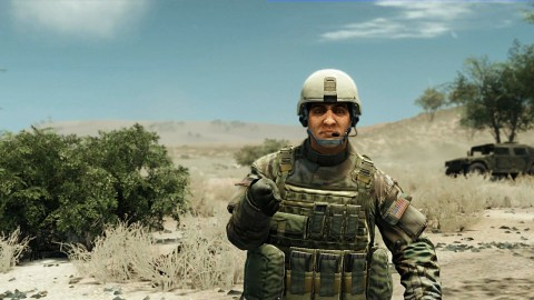 Virtueller Trainingssimulator der US-Armee in der Cryengine