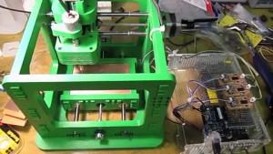 MTM Snap - CNC-Maschine aus Drucker