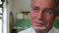 Horst Zuse zeigt den Nachbau der Z3