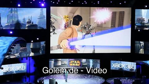 Kinect Star Wars - Live-Demo von der E3 2011