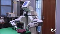 Roboter PR2 macht die Wäsche