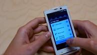 Gingerbread auf dem Sony Ericsson Xperia X10
