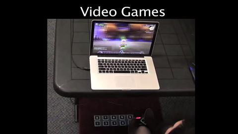 Mac und PC mit den Füßen steuern (Herstellervideo)