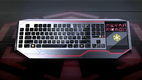 Razer zeigt Tastatur mit Touchscreen für Star Wars The Old Republic
