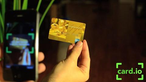 Card.io - iPhone als Kreditkartenterminal (Herstellervideo)