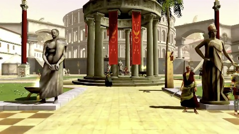 Gods and Heroes Rome Rising - Trailer (Gameplay)