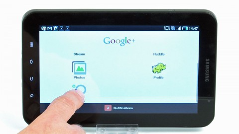 Google Plus auf Android - kurze Demo